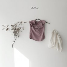 neck frill T<br>graying pink<br>『guno・』<br>19SS <br>定価<s>1,800円</s><br>XS/M/L