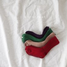 Rib socks set<br>Red set<br>『Team』 <br>19SS <br>