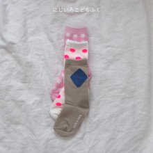 TRIPLE SOCKS SET<br>3 color 1 set<br>『 Bien A Bien』<br>19SS<br>XS/M/XL