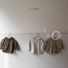 muji hood T<br>mint<br>『 l'eau 』<br>19FW 定価<s>2,600円</s><br>