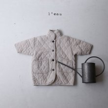 quilting jk<br>light beige<br>『 l'eau 』<br>19FW 定価<s>7,600円</s><br>