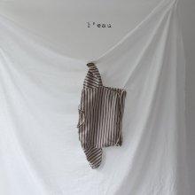 leau stripe T <br>beige<br>『 l'eau 』<br>19FW