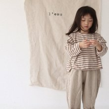 jeju pt<br>light beige<br>『 l'eau 』<br>19FW <br>定価<s>3,200円</s><br>
