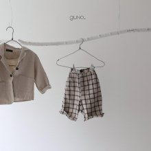 stitch pt<br>black check<br>『guno・』<br>19FW <br>定価<s>3,200円</s><br>