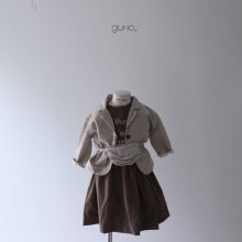 bon ami ops<br>brown<br>『guno・』<br>19FW 定価<s>4,200円</s><br>XS/M