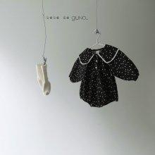 bebe vintage cara suit<br>black bot<br>『bebe de guno・』<br>19FW<br>定価<s>3,900円</s><br>
