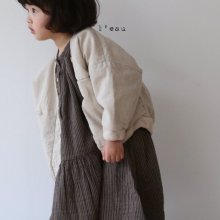 leau natural jk<br>light beige <br>『 l'eau 』<br>19FW<br>定価<s>6,400円</s><br>L