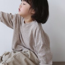 waffle t<br>light beige<br>『 l'eau 』<br>19FW 定価<s>2,200円</s><br>