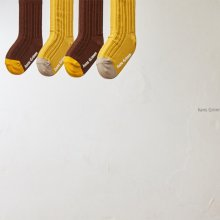 Rib socks<br>2color 1set<br>『 hans Grimm 』 <br>19FW