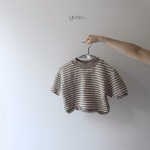 stripe T<br>light beige<br>『guno・』<br>19FW <br>定価<s>2,900円</s><br>XS/M/L/XL