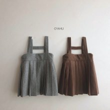 Two Suspenders One Piece<br>2 color<br>『O'ahu』<br>19FW <br>【ご予約販売】