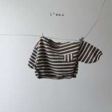 stripe T<br>brown<br>『 l'eau 』<br>19FW<img class='new_mark_img2' src='https://img.shop-pro.jp/img/new/icons13.gif' style='border:none;display:inline;margin:0px;padding:0px;width:auto;' />