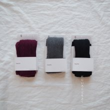 cable tights<br>3 color<br>『 bd socks 』 <br>19FW
