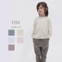PLAIN  L/S T<br>5 color<br>『FOV』<br>20PS <br>定価<s>1,760円</s>