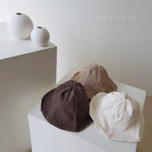 Twill cotton hat<br>3 color<br>『nunubiel』<br>20SS