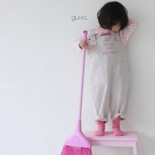 ju suis overall<br>pink letter<br>『guno・』<br>20SS