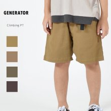 Climbing pt<br>4 color<br>『GENERATOR』<br>20SS