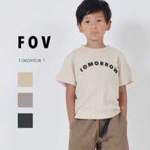 TOMORROW T<br>3 color<br>『FOV』<br>20SS <br>定価<s>1,760円</s>