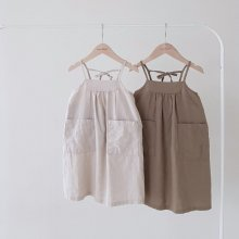 Natural dress<br>2 color<br>『nunubiel』<br>20SS 【STOCK】