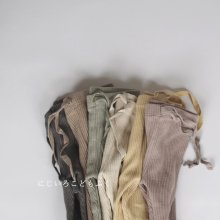 Junior Spring Rib leggings<br>6 Color<br>『de marvi』<br>20SS