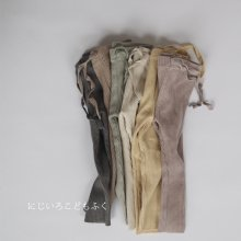 Spring Rib leggings<br>6 Color<br>『de marvi』<br>20SS