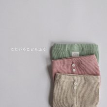 bebe rib leggings<br>3 color<br>『popochichi』<br>20SS