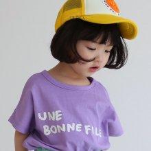 bon fille T<br>violet<br>『guno・』<br>20SS 【STOCK】S/M