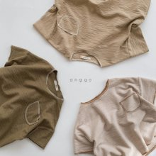 Maple T<br>3 color<br>『anggo』<br>20SS <br>定価<s>1,700円</s><br> light beige/XS・XL