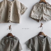 Cinnamon set<br>2 color<br>『anggo』<br>20SS <br>定価<s>3,800円</s><br> L/XL