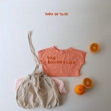 bebe bon fille T<br>orange<br>『bebe de guno・』<br>20SS<br>定価<s>1,900円</s>