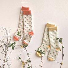 Flower Socks Set<br>2 color 1 set<br>『 Hear I am 』