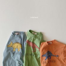 dinosaur T<br>3 color<br>『LaLaLand』<br>20SS 【STOCK】