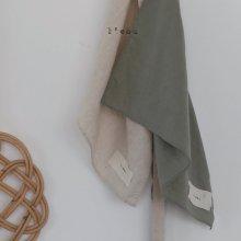 l'eau apron <br>2 color<br>『l'eau』<br>20SS 【Re Stock】