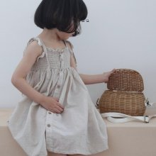 smocking ops<br>light beige<br>『l'eau』<br>20SS <br>定価<s>4,080円</s>