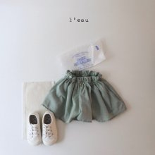 parisian skirt pants<br>green<br>『l'eau』<br>20SS <br>定価<s>2,900円</s>S/L