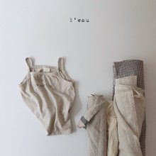 1961 nasi<br>light beige<br>『l'eau』<br>20SS <br>定価<s>1,600円</s>XS/S/M/