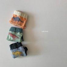 dinosaur underpants set<br>3 color 1 set<br>『LaLaLand』<br>20SS