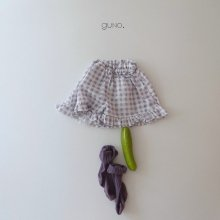 lovely skirt pants <br>violet check<br>『guno・』<br>20SS 【STOCK】XS/S