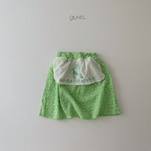 apron skt<br>green<br>『guno・』<br>20SS<img class='new_mark_img2' src='https://img.shop-pro.jp/img/new/icons13.gif' style='border:none;display:inline;margin:0px;padding:0px;width:auto;' />