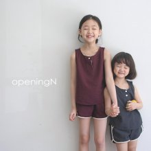 Summer sleeveless<br>D / gray、wine、beige <br>『opening N』<br>20SS<img class='new_mark_img2' src='https://img.shop-pro.jp/img/new/icons13.gif' style='border:none;display:inline;margin:0px;padding:0px;width:auto;' />