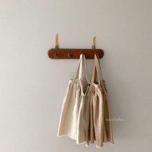 Twill suspenders sk<br>2 color<br>『monbebe』<br>20SS  【STOCK】