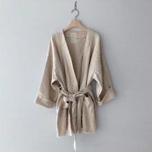 Linen robe<br>MOM<br>『monbebe』<br>20SS  【STOCK】