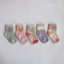 girls socks set<br>5 color 1Set<br>20SS