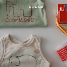 elephant suit <br>olive green<br>『bebe de guno・』<br>20SS 【STOCK】