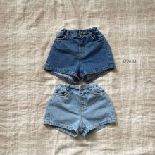 Garson denim shorts<br>2 color<br>『O'ahu』<br>20SS<br>定価<s>2,900円</s>