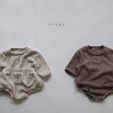 Bebe Cropple top and bottom<br>2 color<br>『anggo』<br>20FW 【STOCK】<br>S/M