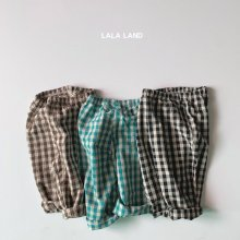 Tommy Check Pants<br>2 color<br>『LALA LAND』<br>20FW