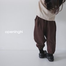 A1 pants<br>2 color<br>『opening N』<br>20FW