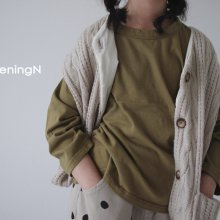 Autumn joy T<br>4 color<br>『opening N』<br>20FW