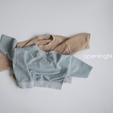 Milk Terry T<br>2 color<br>『opening N』<br>20FW